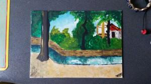 Emilie S. landscape painting
