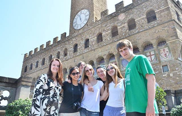 Cousins in Firenze